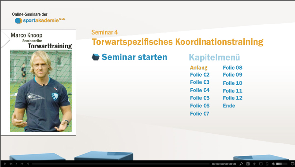 Torwarttraining mit Marco Knoop