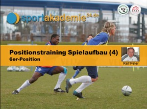 Fussball Training - Positionstraining für den 6er