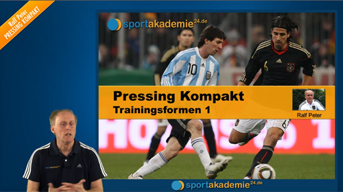 Taktik Fussball: Pressing Trainingsformen