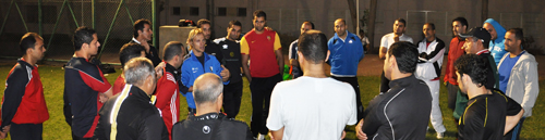 Torwart Training: Seminar in Dubai 2012
